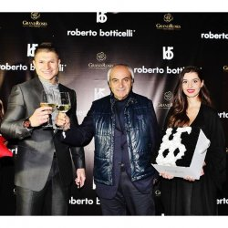 GrandRoses® партньор на откриването на първия официален бутик на Roberto Botticelli